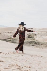 wandering woman